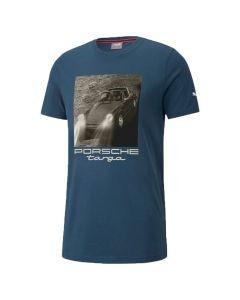 Shop Puma Porsche Legacy Statement Mens T-shirt Intense Blue at Side Step Online