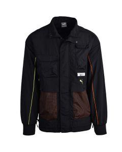 Shop Puma PL Statement Mens Jacket Black at Side Step Online