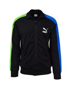 Shop Puma Iconic T7 Track Jacket Mens Black at Side Step Online