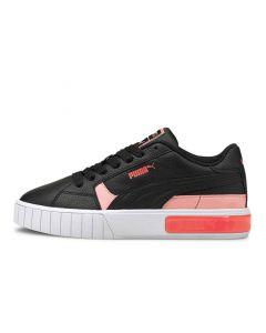 Shop Puma Cali Star Pop Womens Black White Pink at Side Step Online