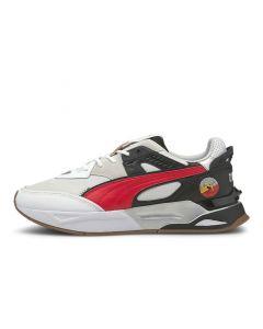 Shop Puma Mirage Sport AS Sneaker Mens White Black High Risk at Side Step Online