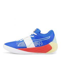 Shop Puma Fusion Nitro Mens Sneaker Bluemazing Sunblaze at Side Step Online