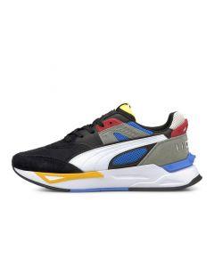 Shop Puma Mirage Sport Remix Mens Sneaker Black White at Side Step Online