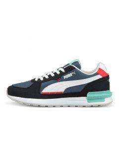 Shop Puma Graviton Mens Sneaker China Blue at Side Step Online