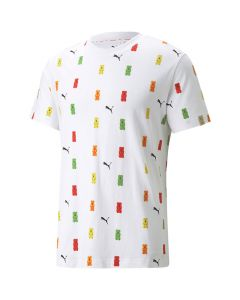 Shop Puma x Haribo All Over Print T-shirt White at Side Step Online