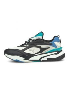 Shop Puma RS Fast Mix Sneaker Mens White Black at Side Step Online