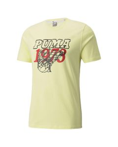 Shop Puma Scouted T-shirt Mens Pear Yellow at Side Step Online