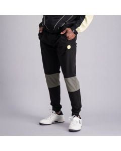 Shop Sergio Tacchini Logo Track Pants Mens Anthracite Black at Side Step Online