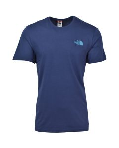 Shop The North Face Biner Graphic 4 T-shirt Mens Aviator Navy at Side Step Online