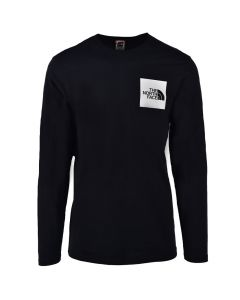 TNF61B-THE-NORTH-FACE-FINE-TEE-BLACK-NF0A37FT-KY4-V1