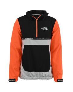 Shop The North Face Wind Jacket Men White Black Orange at Side Step Online