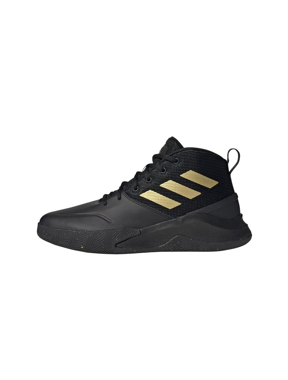 emparedado tirano Maestro  adidas Performance OwnTheGame Mens Core Black Matte Gold