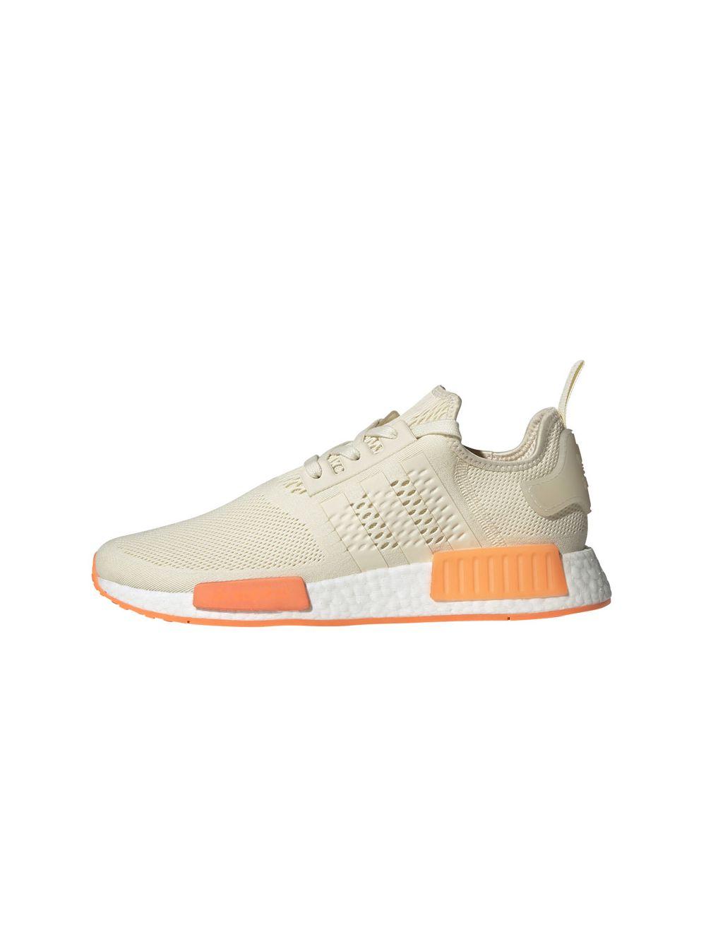 adidas Originals NMD_R1 Men Cream White Screaming Orange