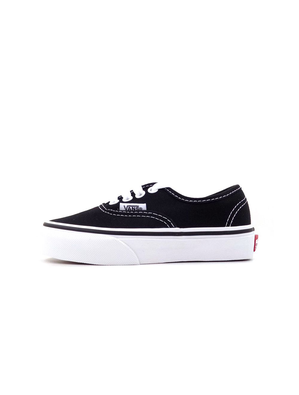 Vans Authentic Kids Sneaker Black White