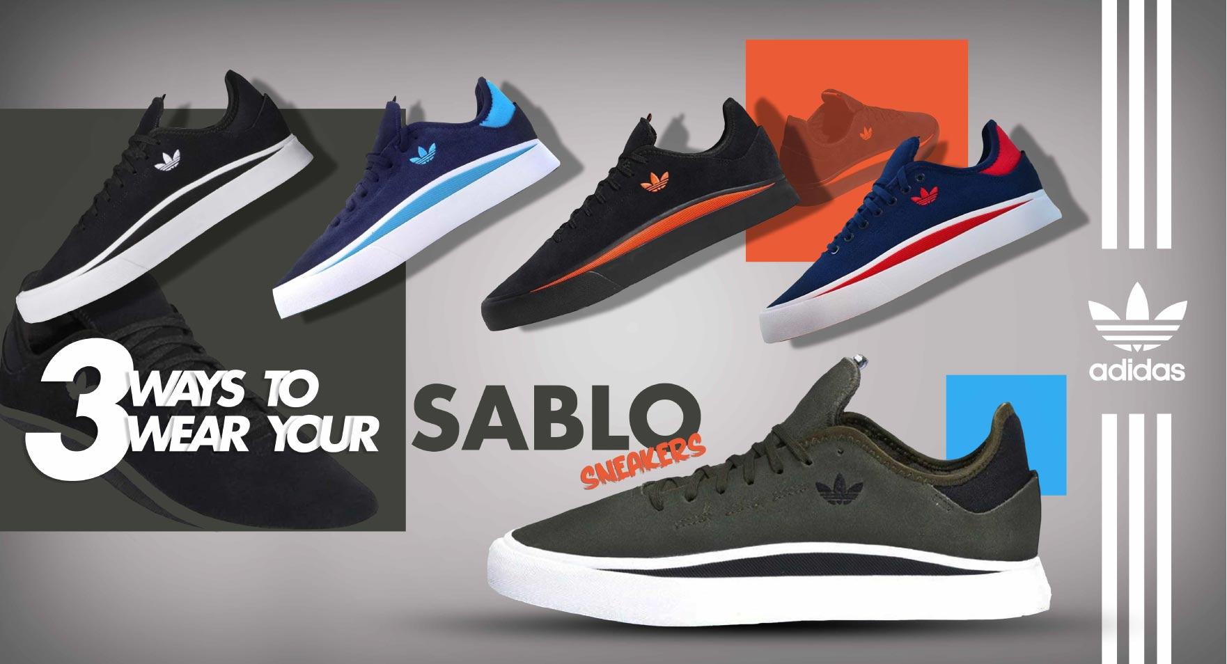 3 Ways to Wear adidas Sabalo Sneakers