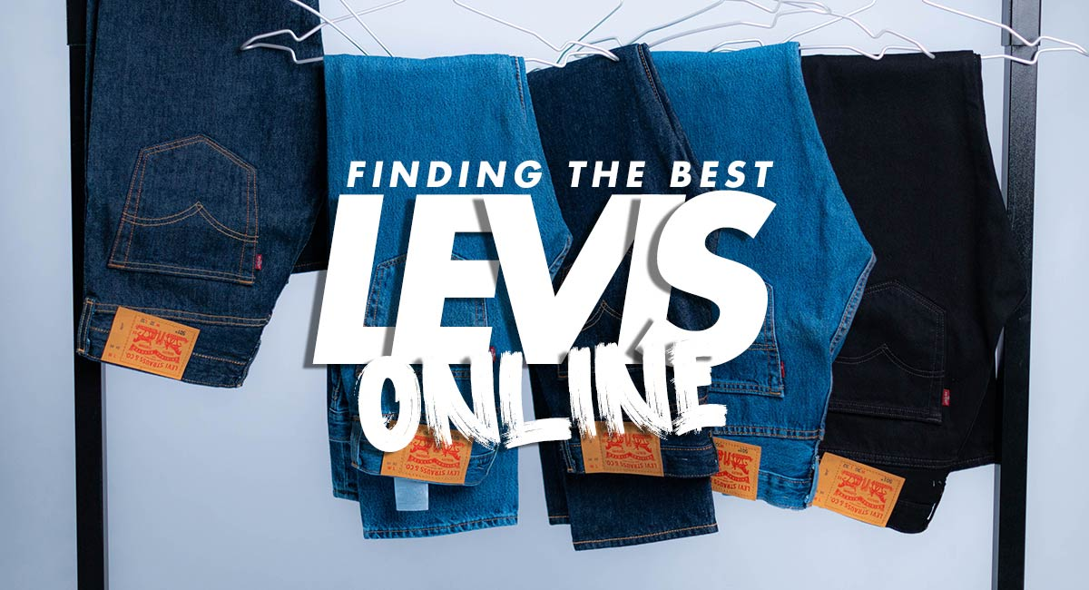 Finding the Best Levi's Jeans Online