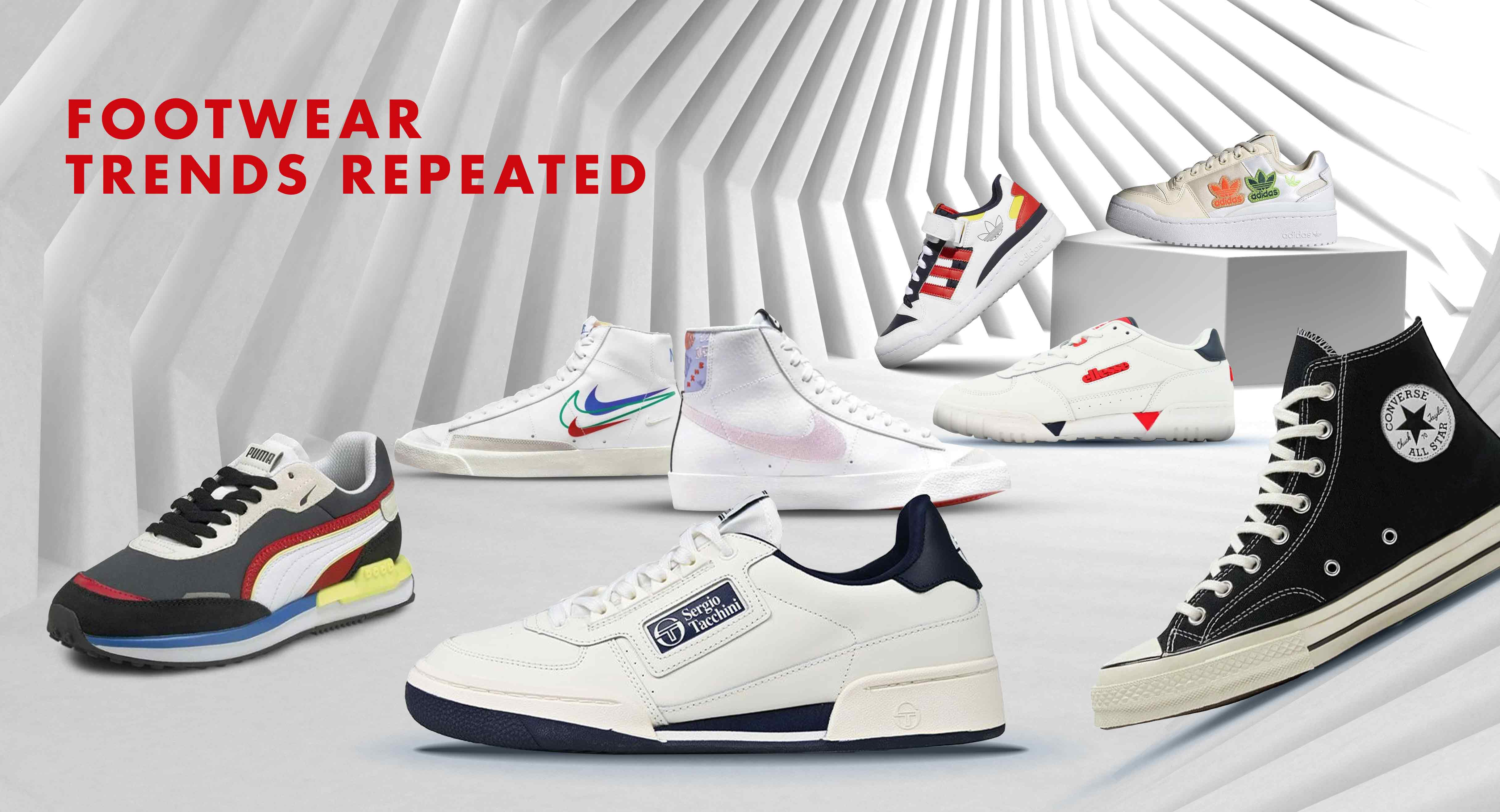 Footwear Trends Repeated – Old Cool is the New Cool