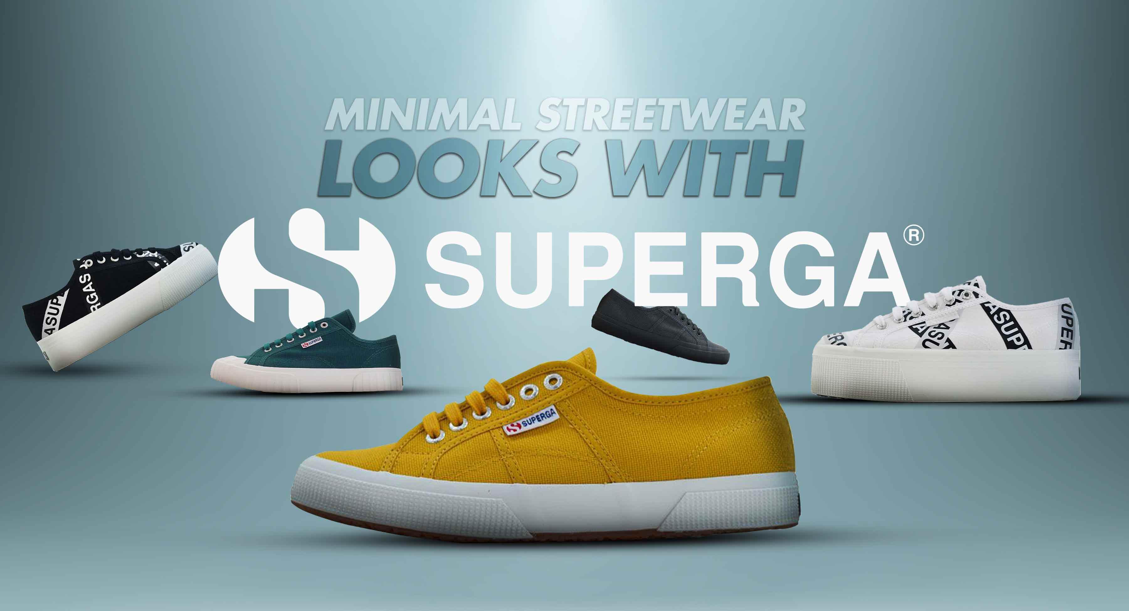 Minimal Streetwear Looks with Superga
