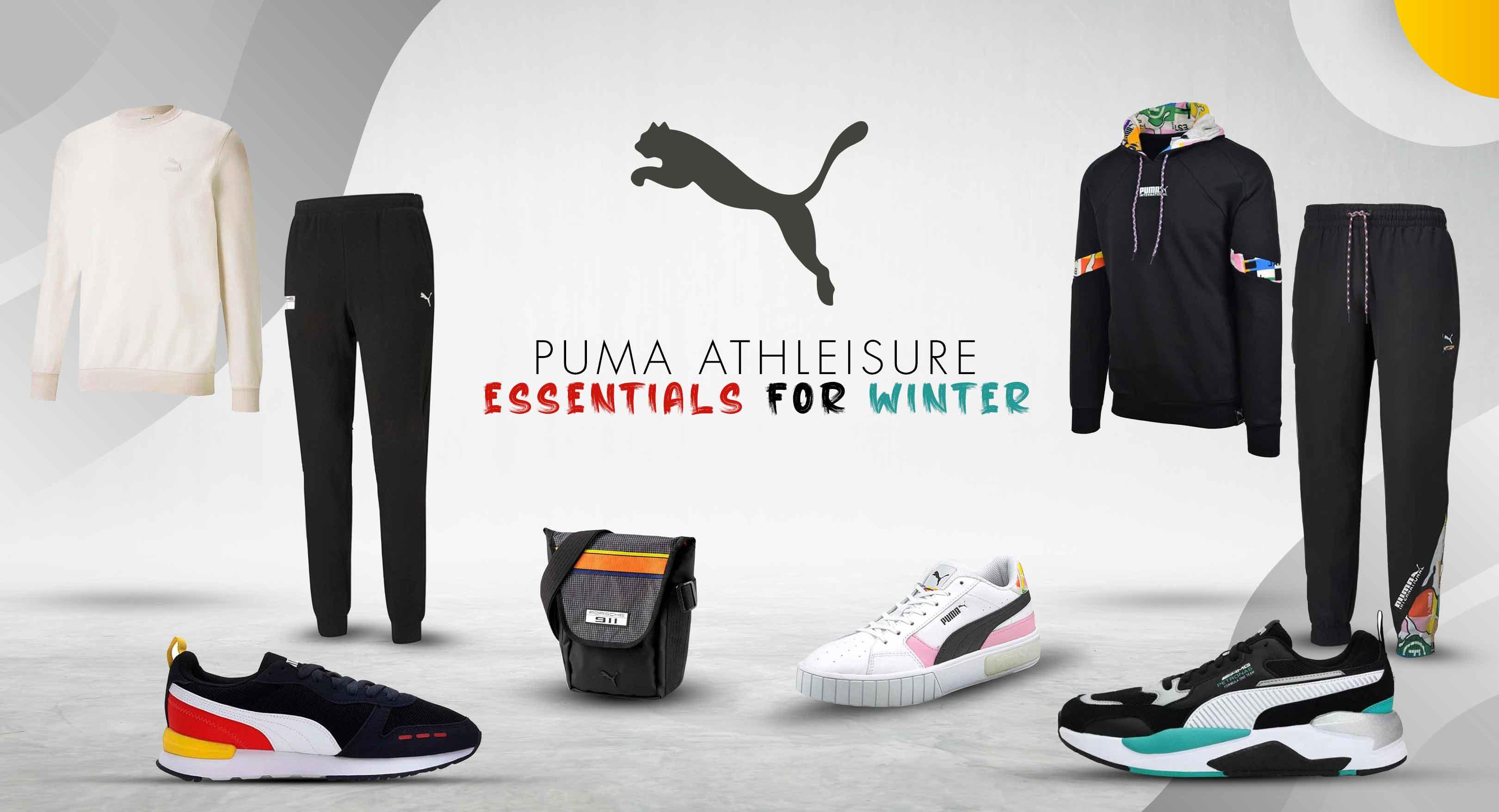 Puma Athleisure Essentials for Winter