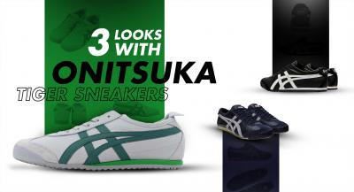 3 Looks with Onitsuka Tiger Sneakers