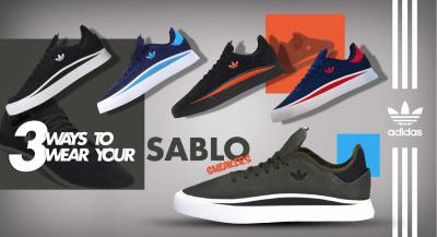 3 Ways to Wear adidas Sabalo Sneakers