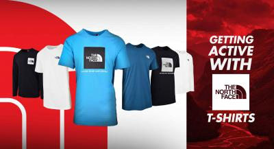 Getting Active with The North Face T-shirts