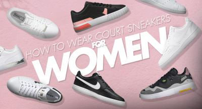 How to Wear Court Sneakers for Women