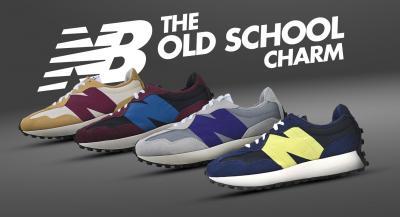 New Balance – The Old School Charm