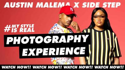 SIDE STEP X AUSTIN MALEMA PHOTOGRAPHY EXPERIENCE