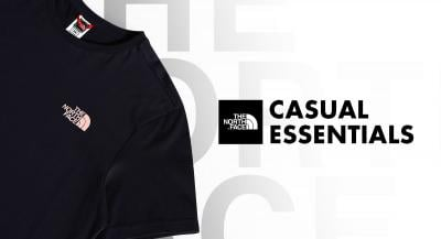 Casual Essentials From The North Face