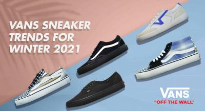 Vans Sneaker Trends for Winter 2021