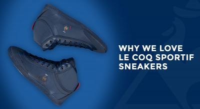 Why We Love Le Coq Sportif Sneakers