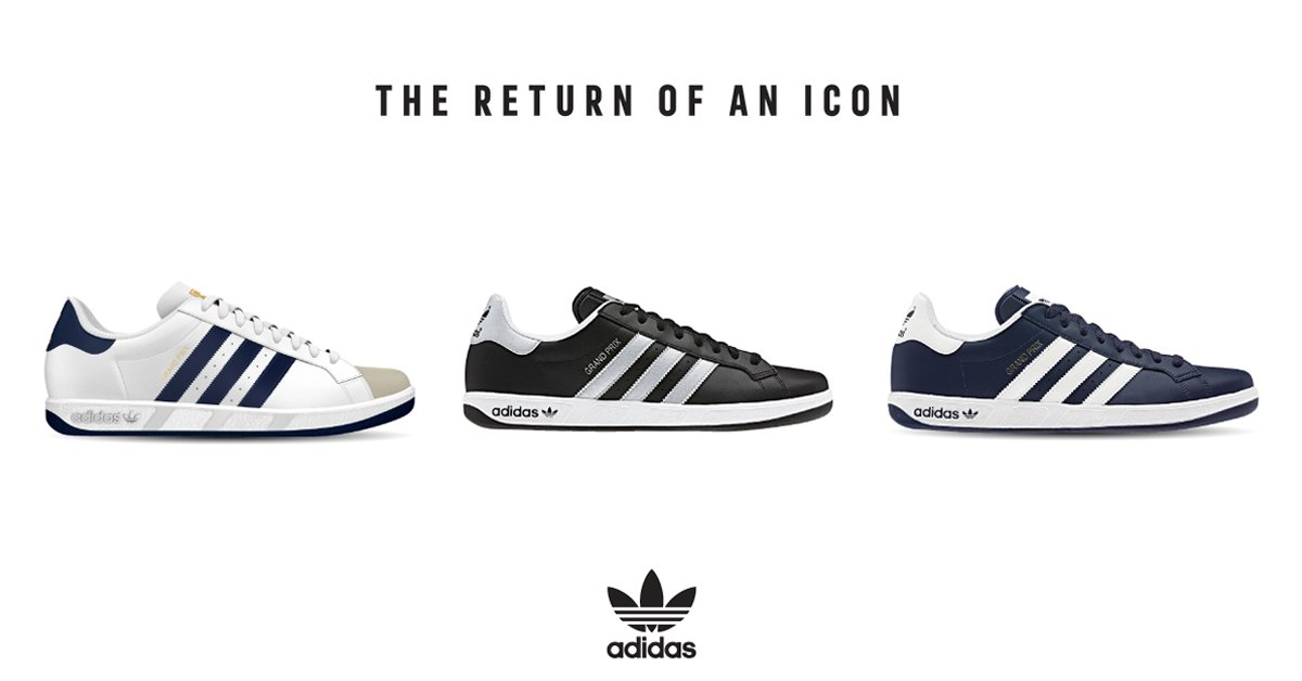 ICONS NEVER DIE: THE ADIDAS GRAND PRIX