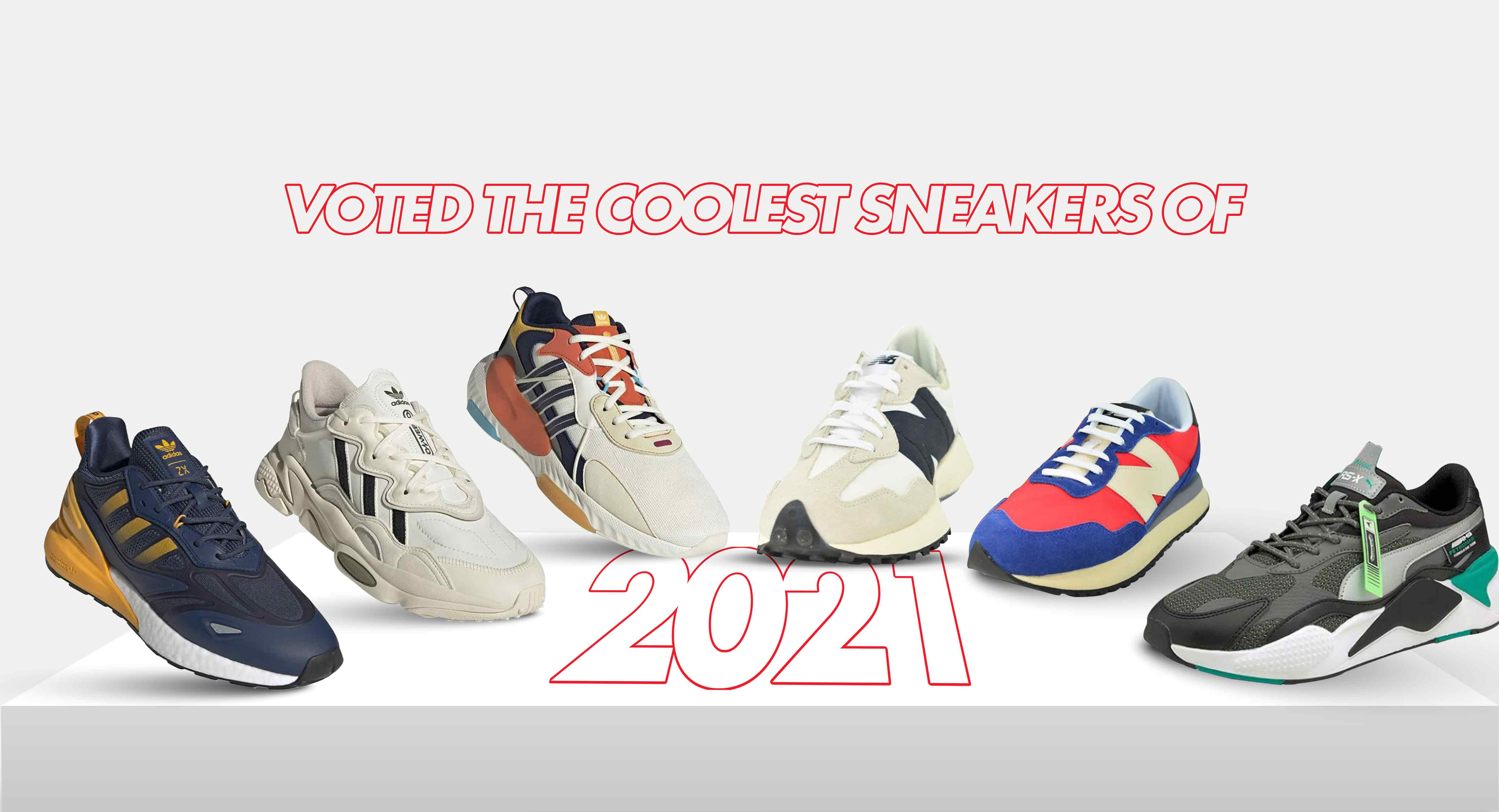 Voted the Coolest Sneakers of 2021