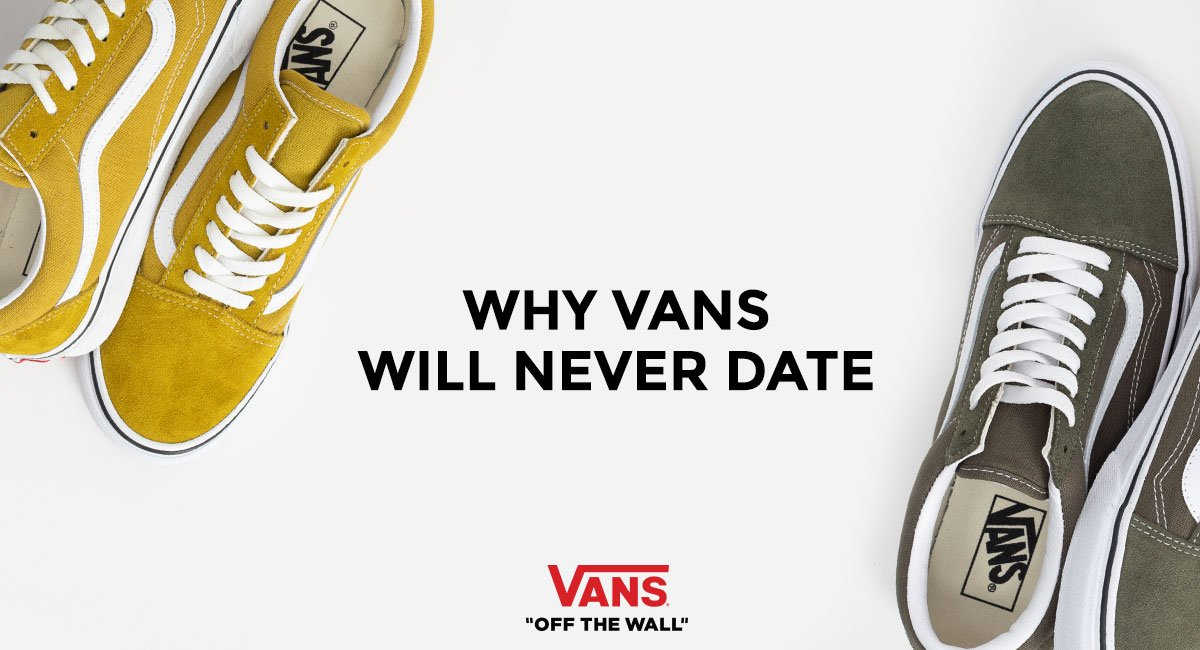 Why Vans Shoes Will Never Date