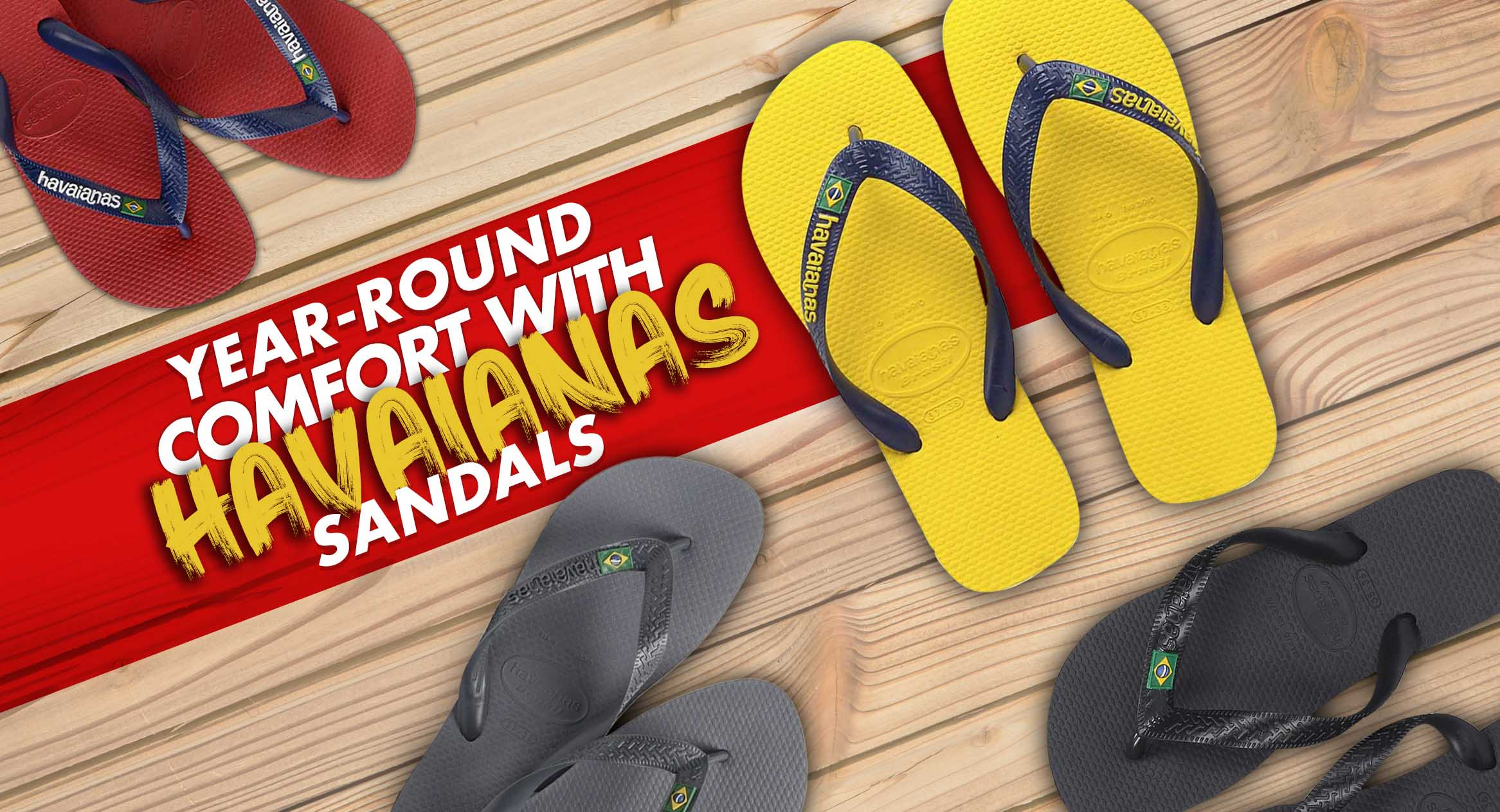 Year-Round Comfort with Havaianas Sandals
