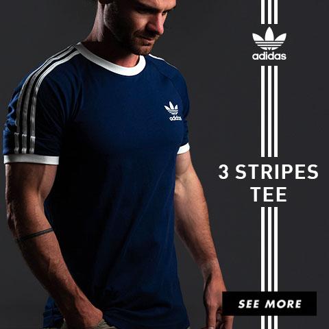Adidas 3 Stripes Tees